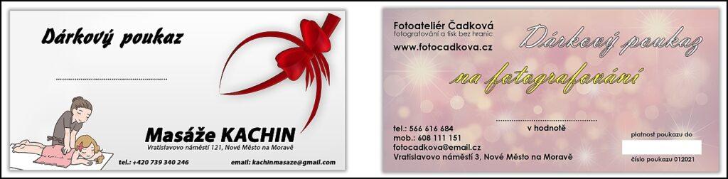 Tisk pozvánek a poukazů. Graficky navrhneme, zpracujeme a vytiskneme pozvánky, poukazy - Nové Město na Moravě , Žďár nad Sázavou , Vysočina
