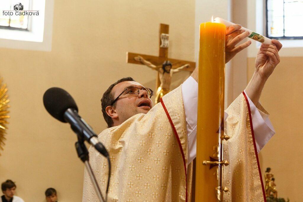 Svaté přijímání / křtiny
