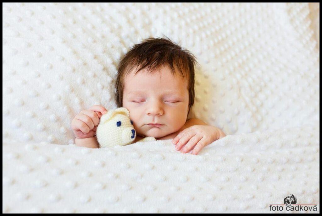 Novorozenecké fotografování - newborn